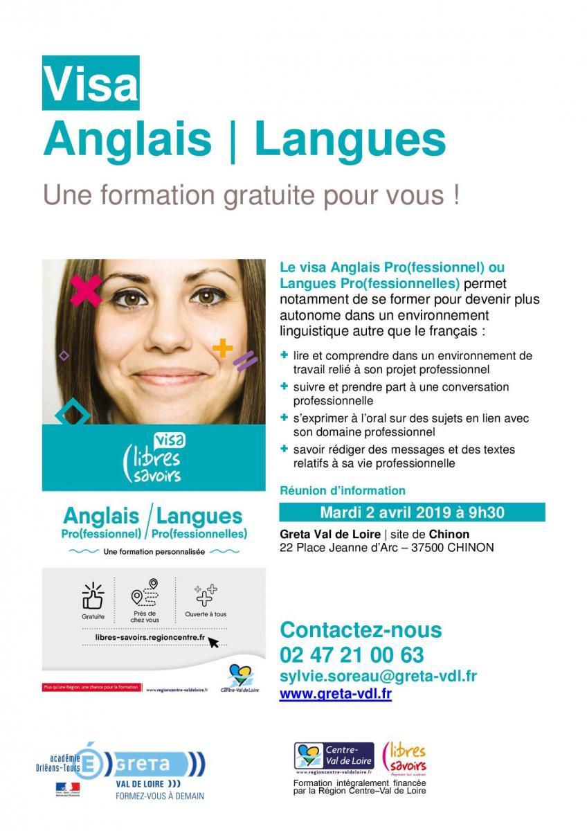 projet professionnel en anglais