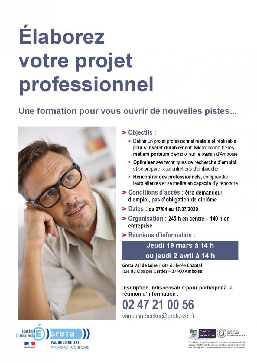 projet pro Amboise